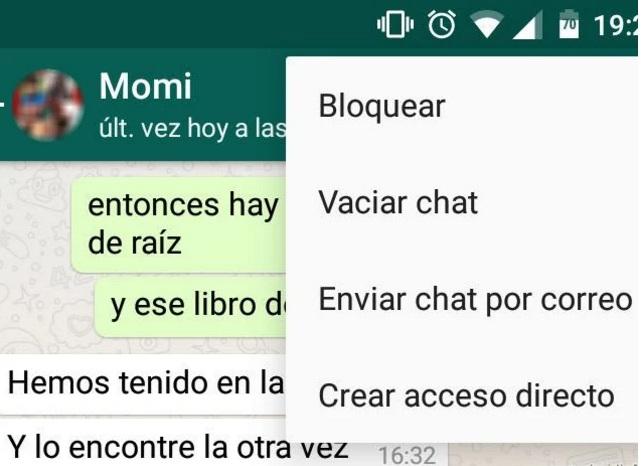 Mensaje - WhatsApp