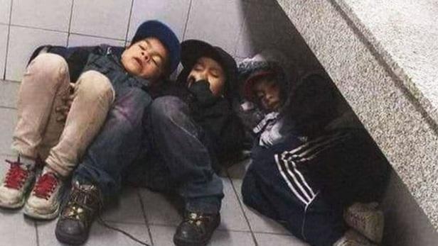 niños durmiendo - Retiro