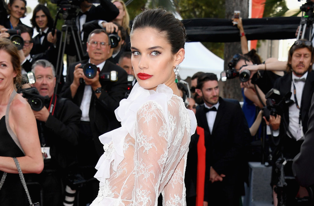 "CANNES, FRANCE - MAY 22:  Sara Sampaio attends the ""The Killing Of A Sacred Deer"" screening during the 70th annual Cannes Film Festival at Palais des Festivals on May 22, 2017 in Cannes, France.  (Photo by Venturelli/WireImage)"