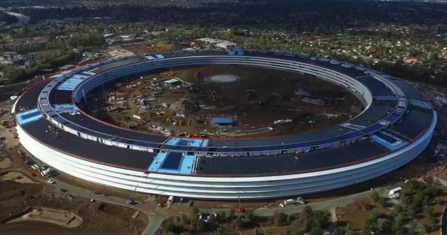 El Campus de Apple, en Silicon Valley, California.