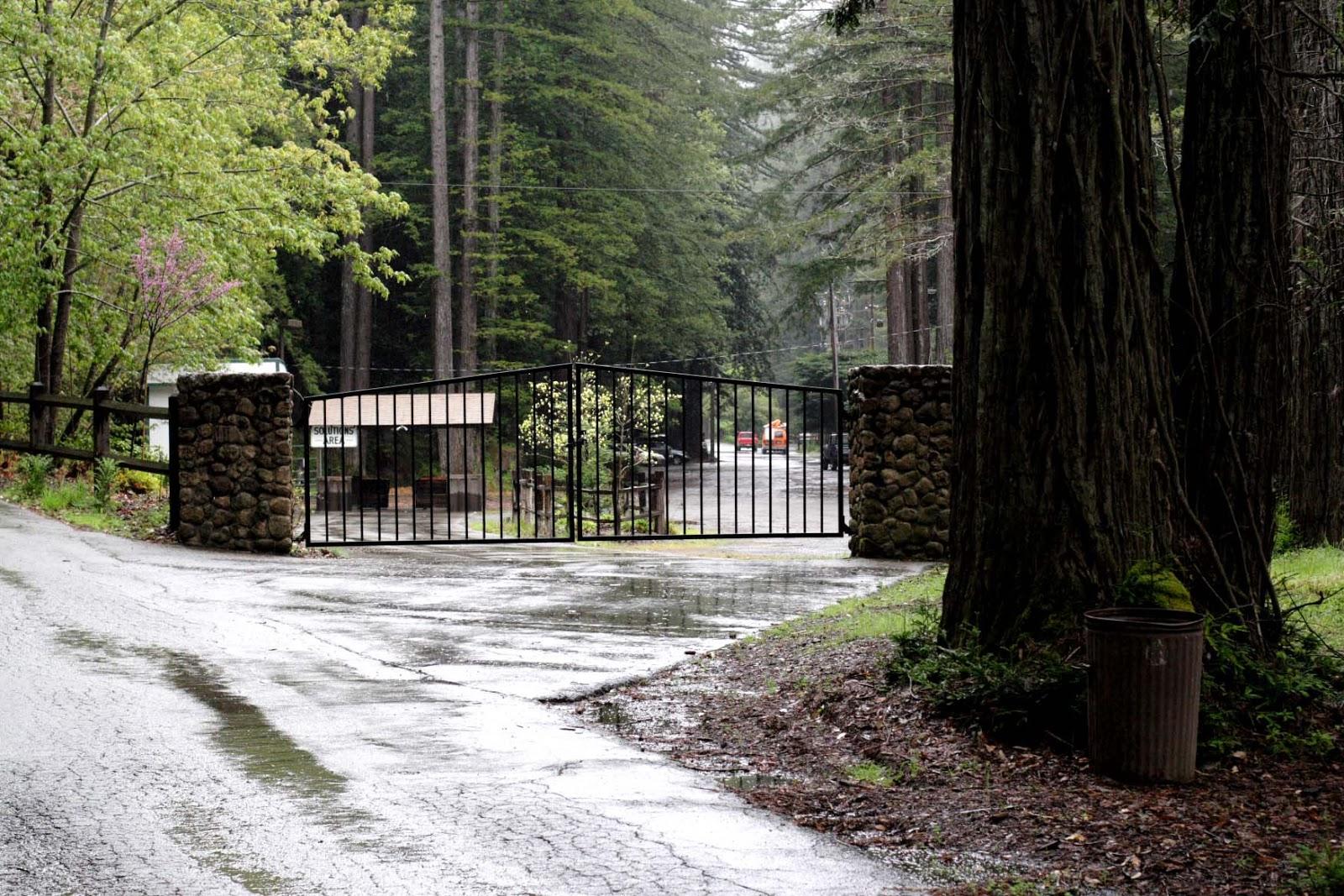 Bohemian Grove Gate