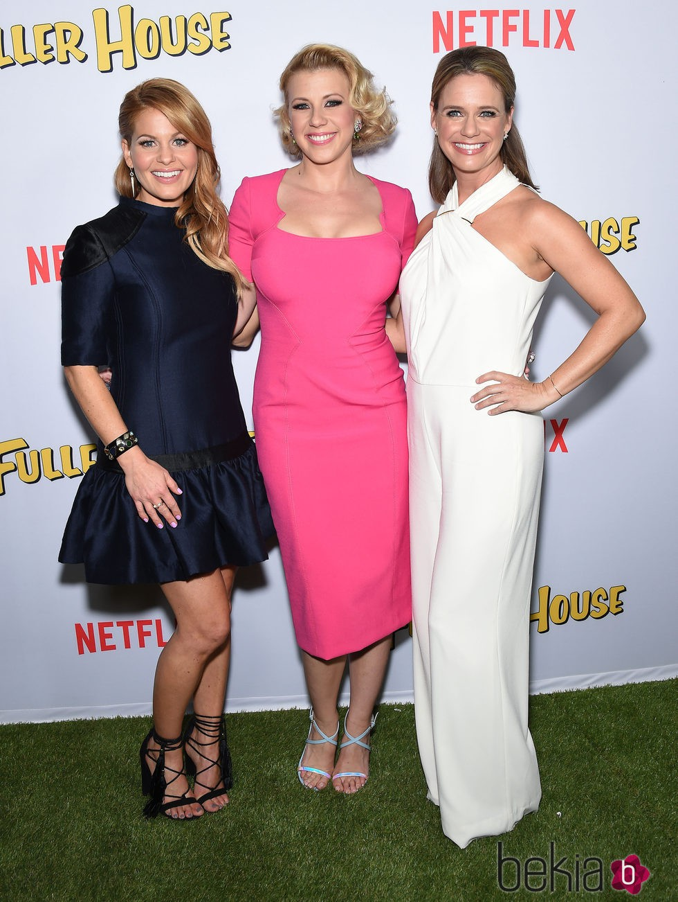 Candace Cameron Bure y Jodie Sweetin,