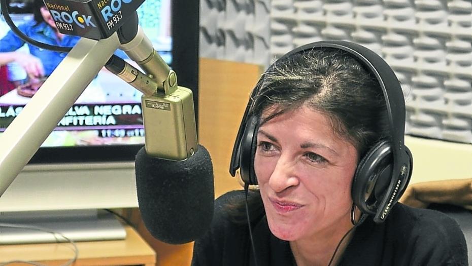 """Fernanda Vallejos dijo que la corrupción """"es una historia de los medios"""" y defendió a Amado Boudou."""