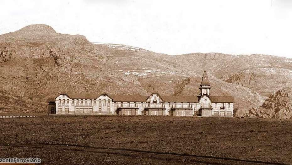 """El Club Hotel de la Ventana fue llamado """"la maravilla del siglo"""", pero estuvo abierto sólo seis años."""