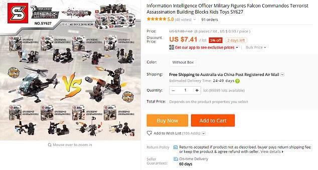 Lego ISIS China1