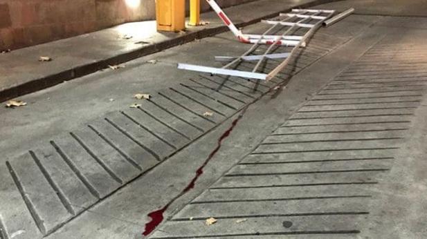 En esta rampa cayó el efectivo asignado a la seguridad de Lázaro Báez.