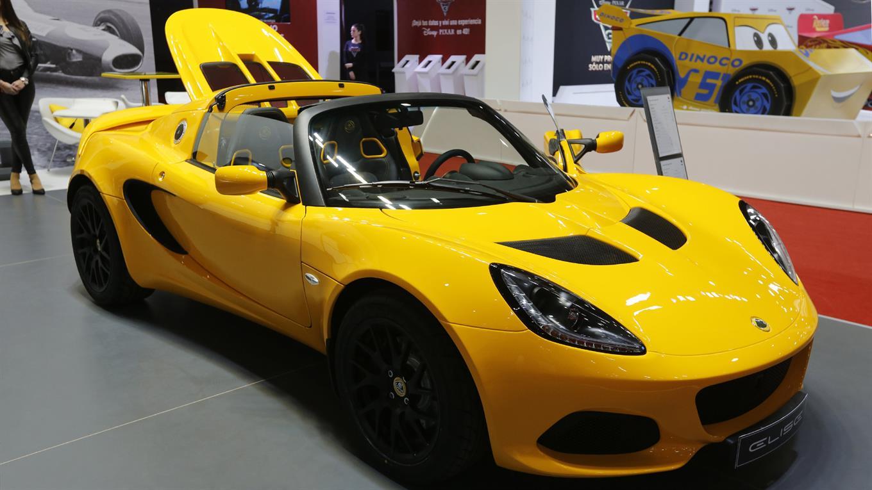 Lotus Elisé en el Salón del Automóvil.