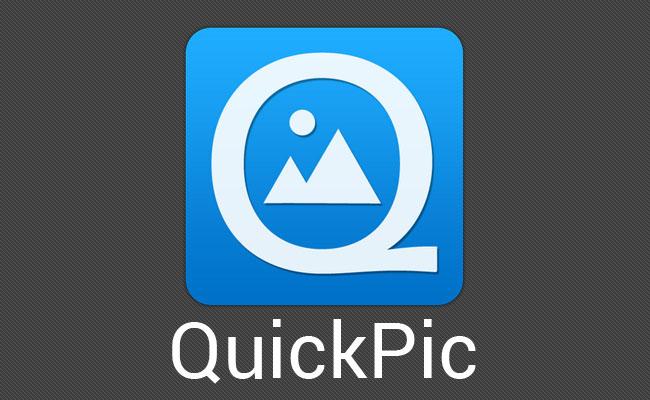 QuickPic pesa poco más de 3 MB, con lo cual es posible inferir que resulta una de las más ligeras del mercado.