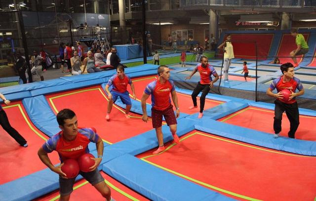 Rush Trampoline Park Buenos Aires2
