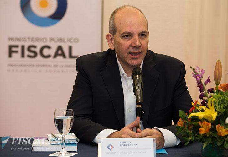 Sergio Rodríguez, el titular de la Procuraduría de Investigaciones Administrativas.