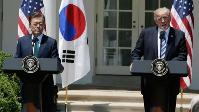 Trump - Corea del Sur