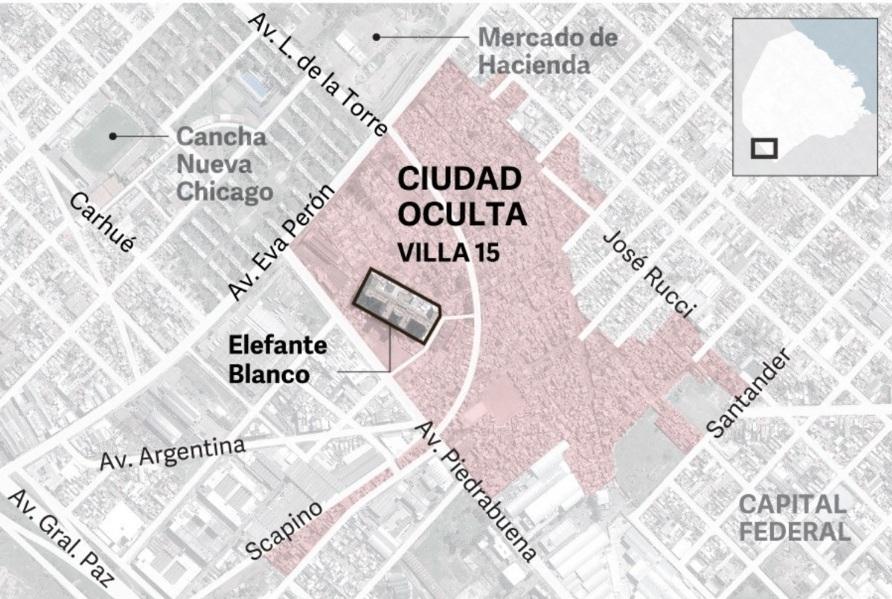 Dónde queda Ciudad Oculta.