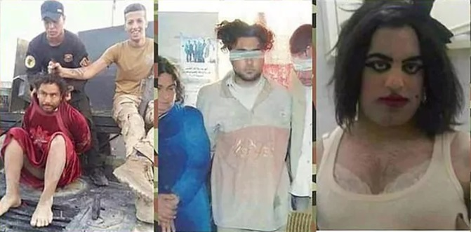 ISIS disfeaces 1