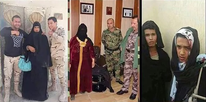 ISIS disfeaces 2