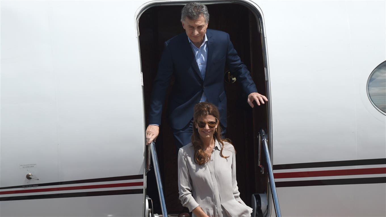 Mauricio Macri llegó a Hamburgo junto a Juliana Awada para participar del G-20.