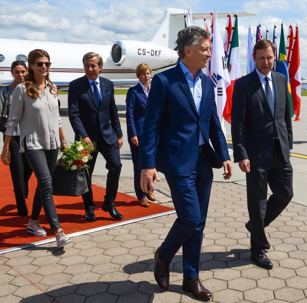 Macri está en Alemania para participar del G20.
