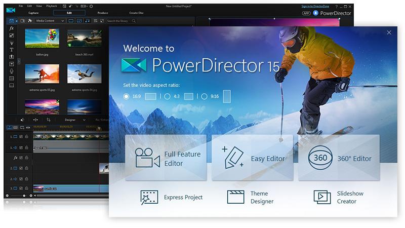 Power  director app