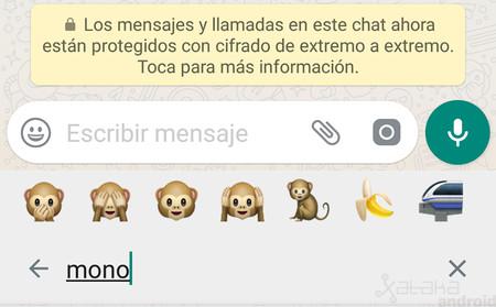 buscador de emojis WhatsApp web