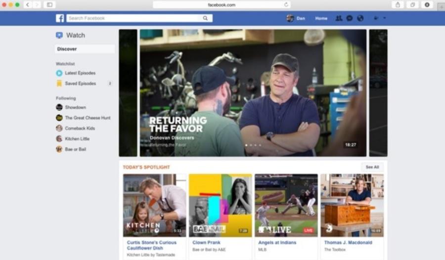 Facebook - Watch