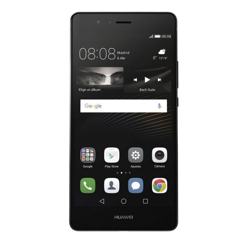"Huawei P9 LitePantalla Full HD de 5,2"", procesador HiSilicon Kirin 650 de 8 núcleos. Frontal de 8 MP y trasera de 13 MP con Dual-Led que logra f/2.0."