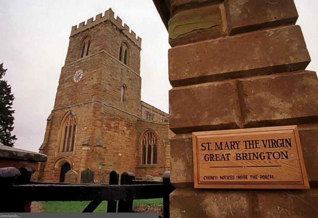 La iglesia de Great Brington, en Northampton, donde Devorik asegura que descansan los restos de Diana.