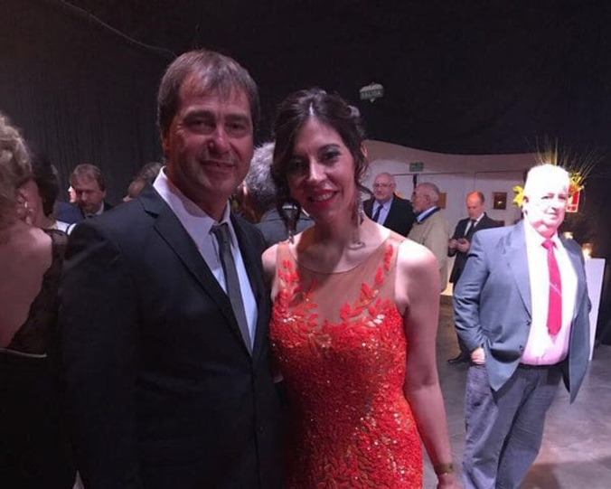 Liliana Costa y Claudio Bisceglia.