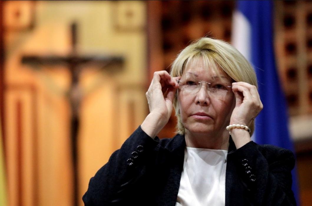 Luisa Ortega Diaz, la procuradora destituida por la Constituyente de Maduro.