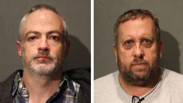 Wyndham Lathem, a la izquierda, y Andrew Warren, autores de un crimen salvaje en Chicago (Chicago Police Department / AP)
