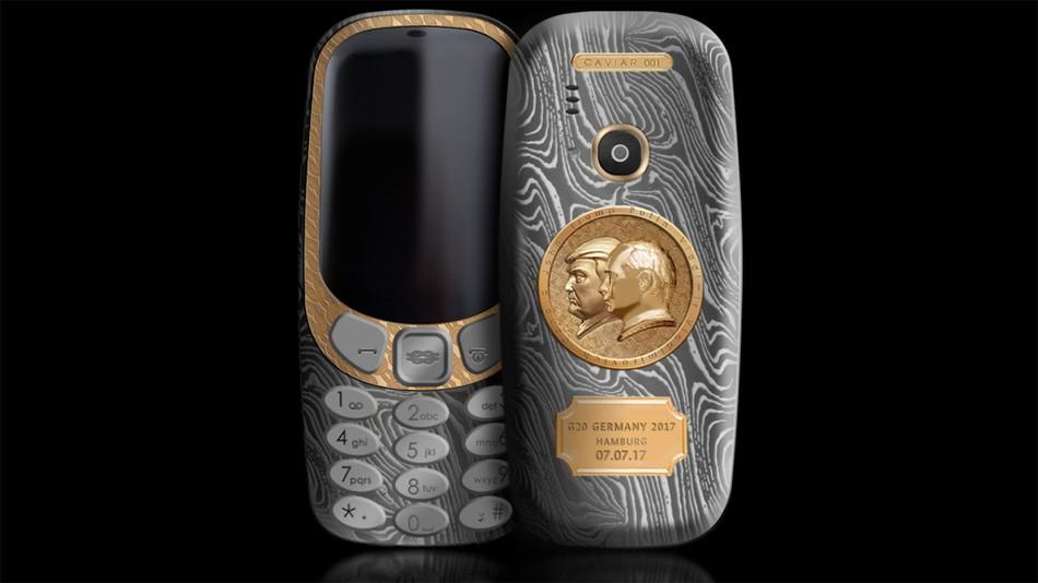 Putin Trump - celular