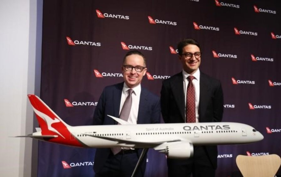 Alan Joyce, CEO de Qantas Airways.
