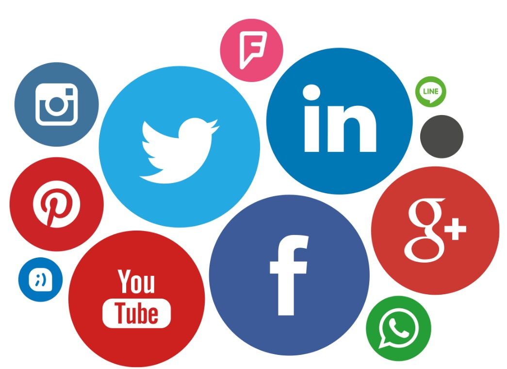 El 71% se contacta con las redes sociales.