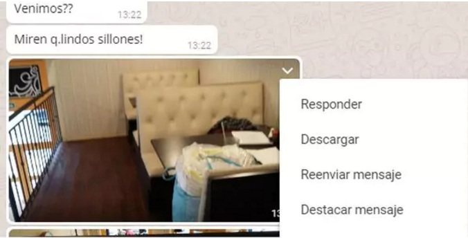 responder chat WhatsApp web