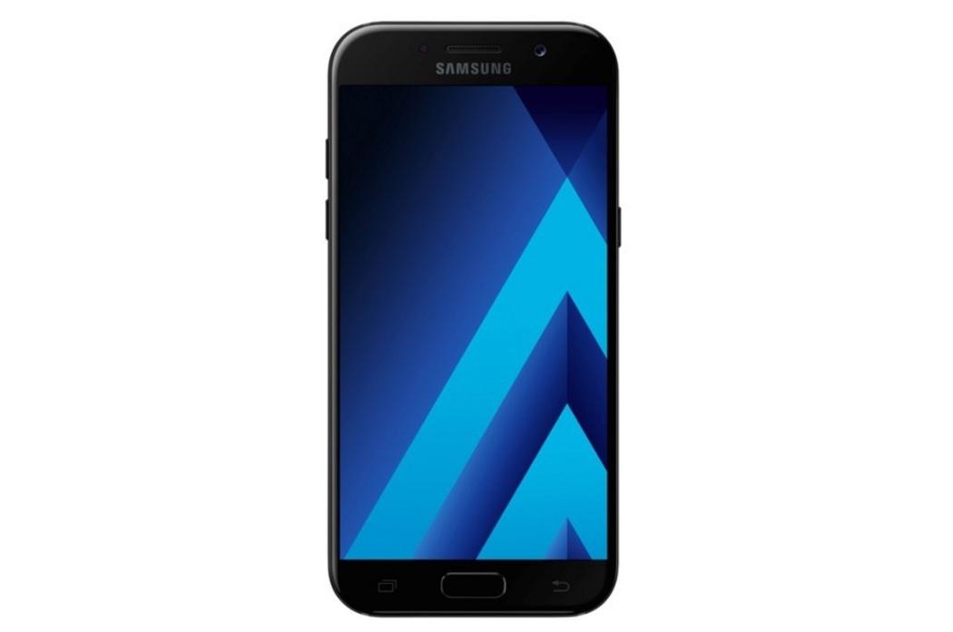 """Samsung Galaxy A5 2017Pantalla Super AMOLED de 5,2"""", procesador de 8 núcleos de 1.9GHz, cámara frontal de 16 MP y trasera de 16 MP."""