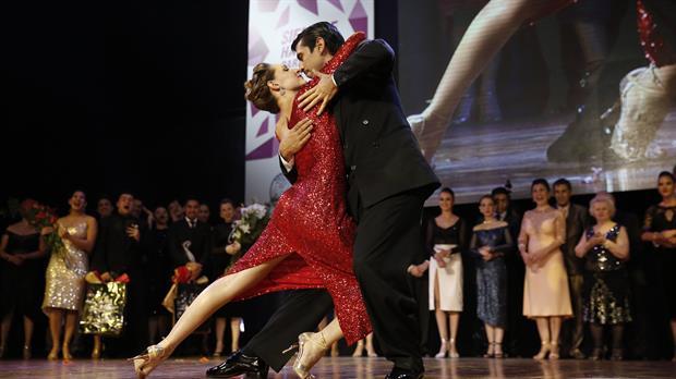 German Ballejo y Magdalena Gutierrez, de la ciudad de Buenos Aires