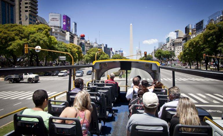 Turistas en Argentina 1