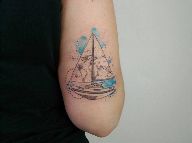 4ad36dcc5f01026277c55adf1df99d98--tattoo-barco-bari