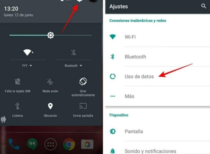 Consejos para economizar datos en Android.