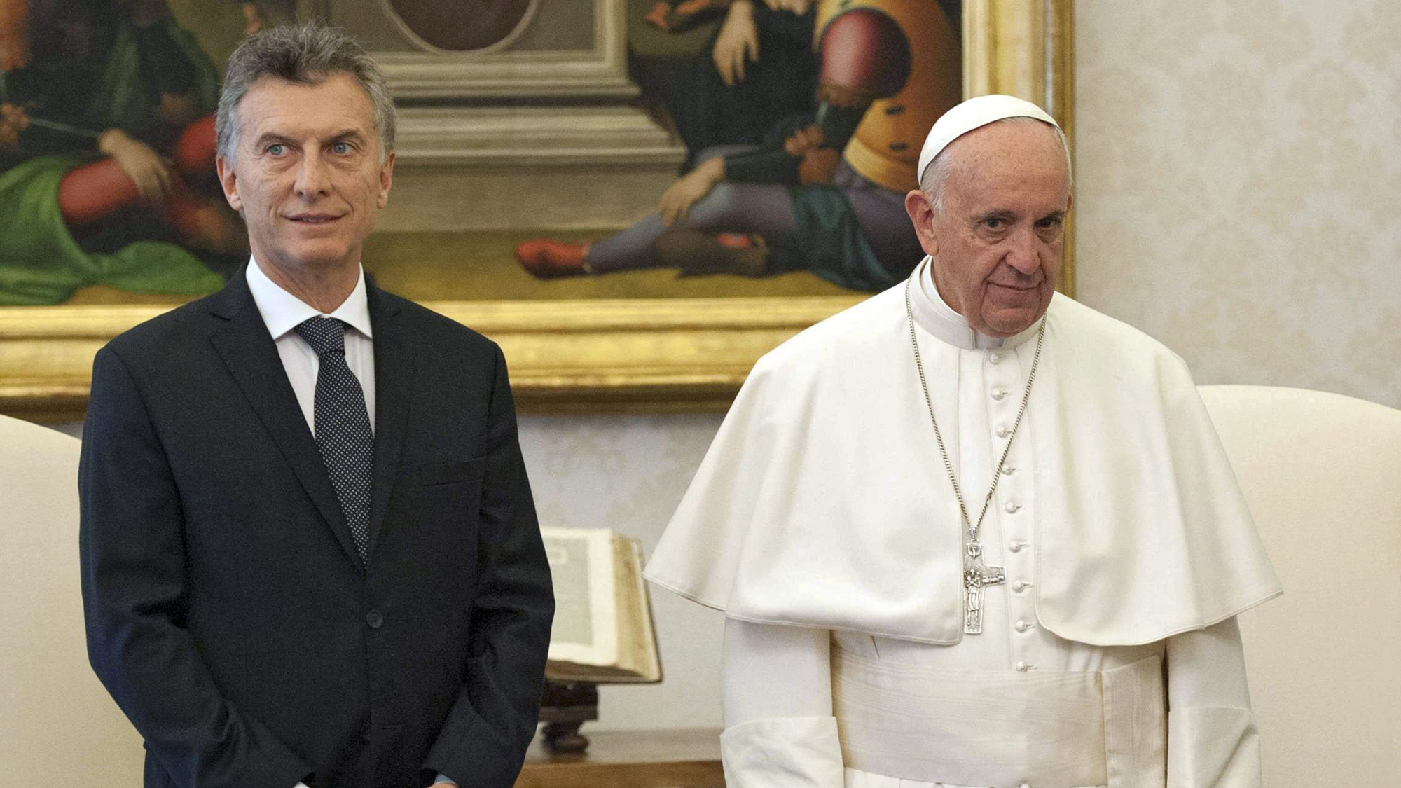 Macri y Francisco