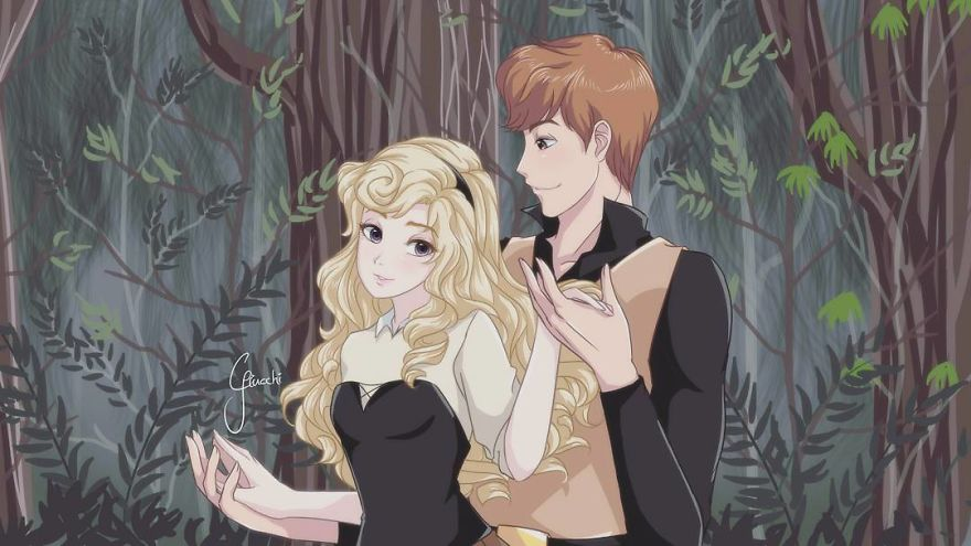Artist-transforms-her-favorite-Disney-princesses-into-anime-art-and-they-look-so-adorable-59b5e2862433d__880