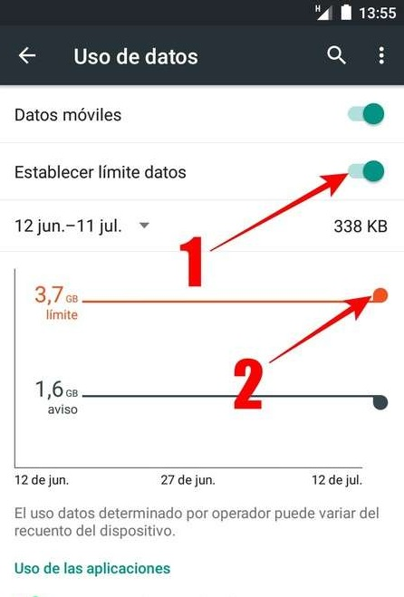 Consejos para regular mejor el consumo de tu paquete de datos móviles en Android.