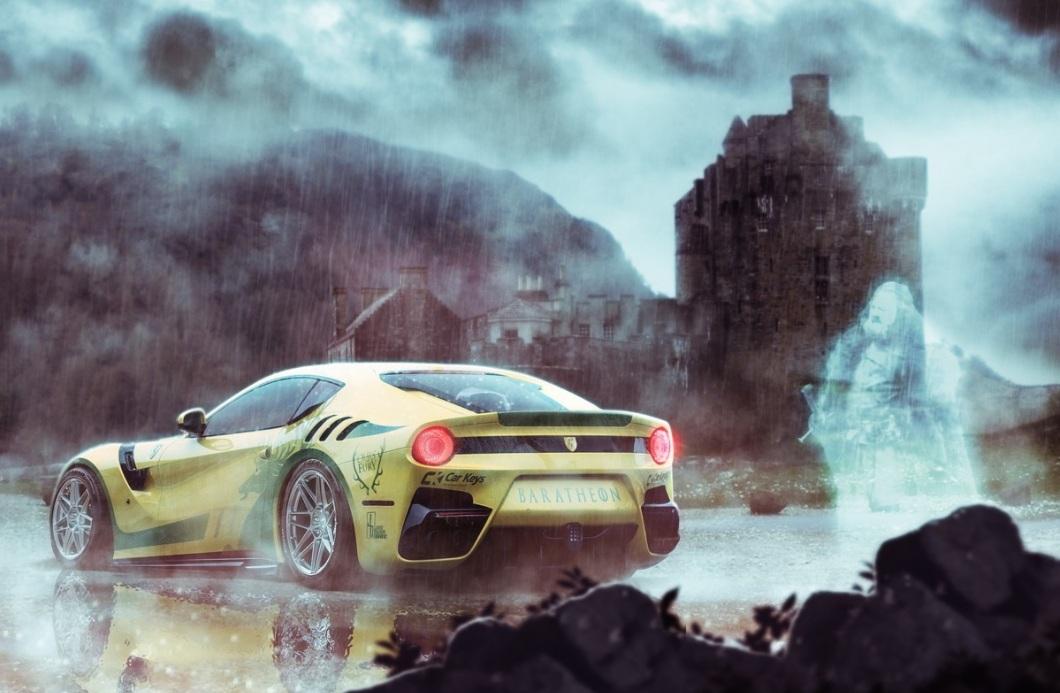 Ostentación pura para el rey Robert Baratheon con su Ferrari F12 tdf.