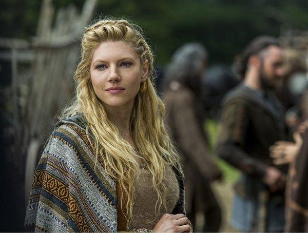 Katheryn Winnick es Lagertha en la serie 'Vikings' (la quinta temporada llegará a el 29 de noviembre y y se renovó por  una sexta prevista para 2018).