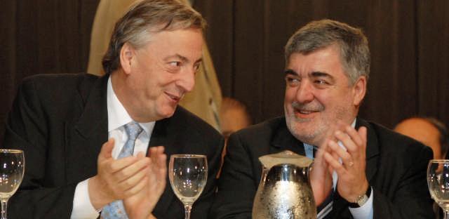 Mario Das Neves y Néstor Kirchner