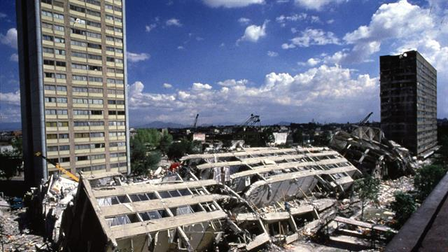 Terremoto en México en 1985.