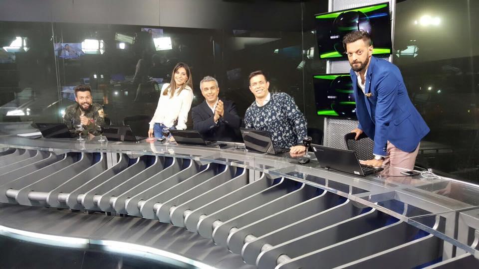 El programa cuenta con Mario Massaccesi, Eddie Fitte, el Rifle Varela, la Beba Pérez Caressi y José Bianco