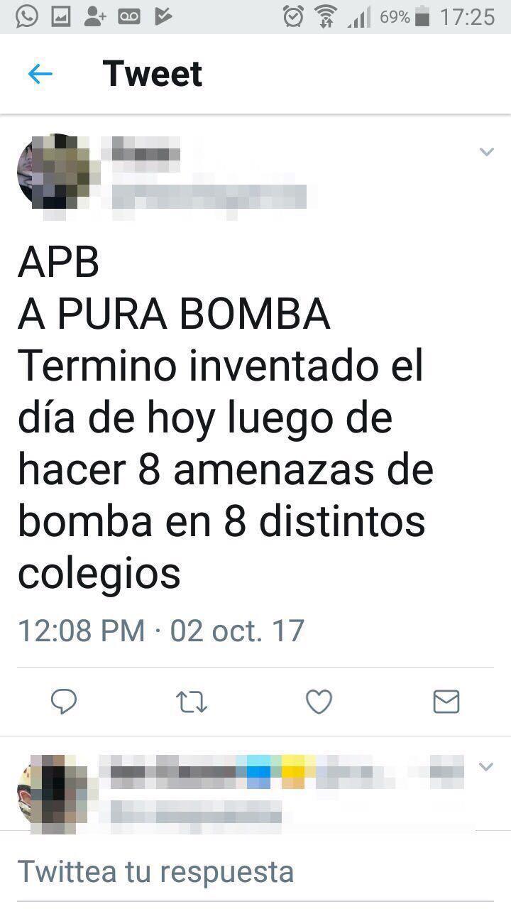 amenaza bomba 1
