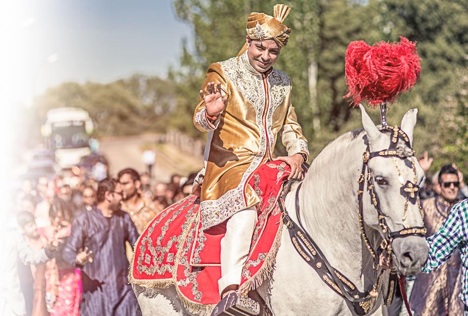 Reportaje de boda hindú en Madrid realizado por Fotoalpunto