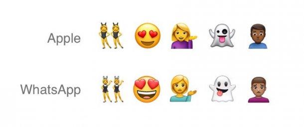 WhatsApp - emojis 1