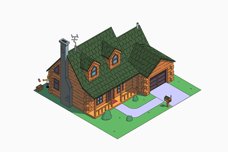 simpsons-house-architectural-styles-designboom-01-5a10c01d34292__880