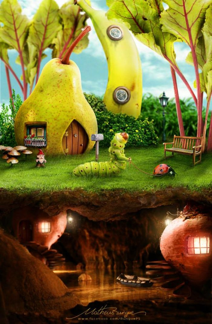 Artists-use-objects-and-fruits-to-build-houses-in-photoshop-and-many-of-them-give-even-the-will-to-live-5a4379d7588d0__700